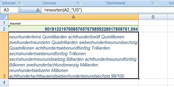 wartości po niemiecku